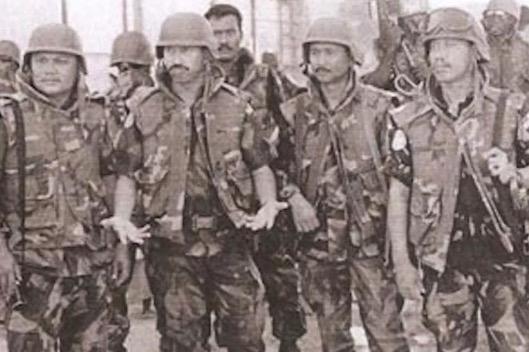 Anggota Komando Malaysia Sertai Misi Black Hawk Down