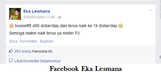 Kisah Sukses Blogger Asal Indonesia Eka Lesmana,