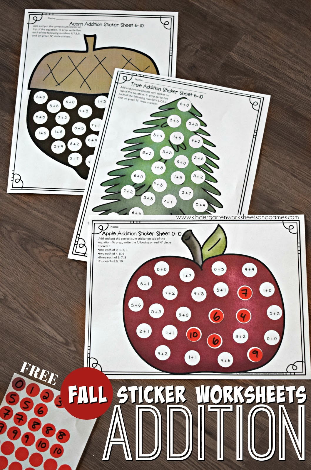 Free Printables Kindergarten Activities