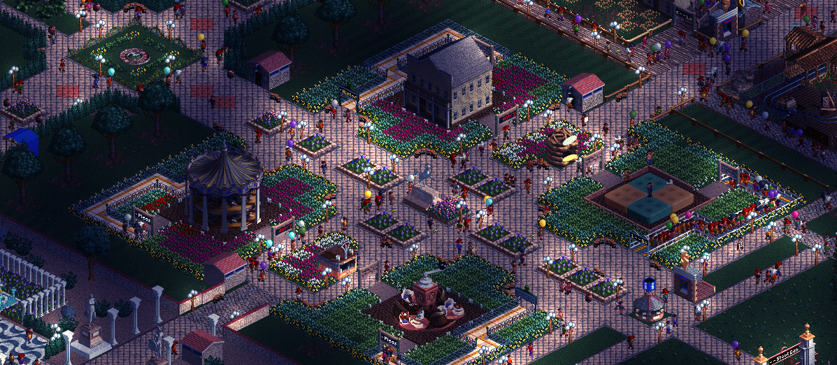 Indie Retro News: OpenRCT2 - Open Source RollerCoaster