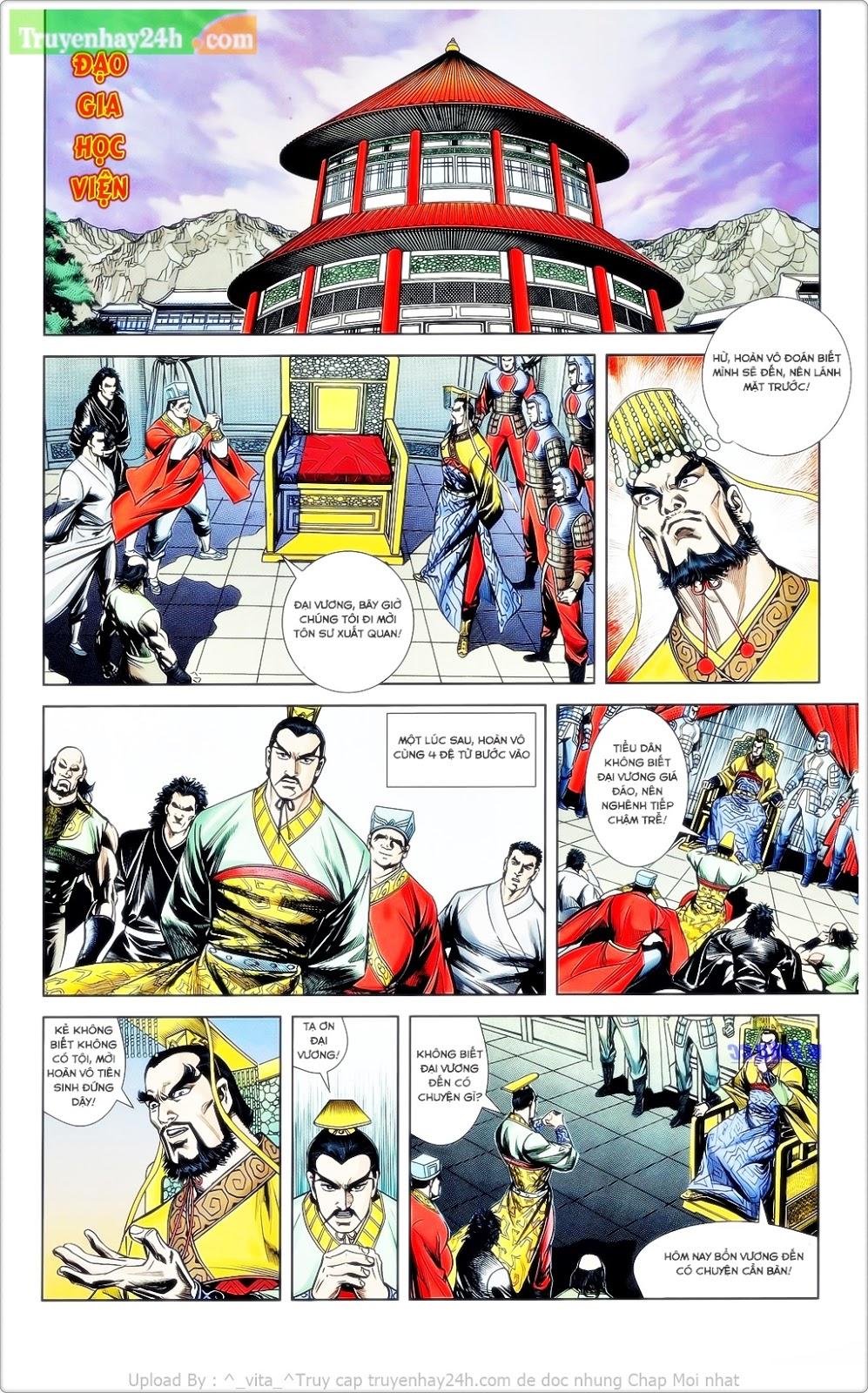 Tần Vương Doanh Chính chapter 23 trang 9
