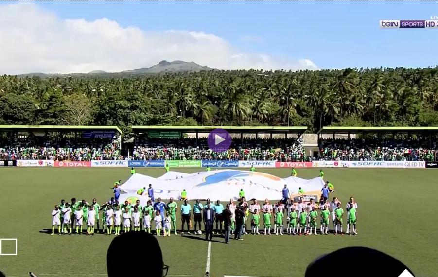 بالفيديو :تعادل صادم للمغرب أمام جزر القمر