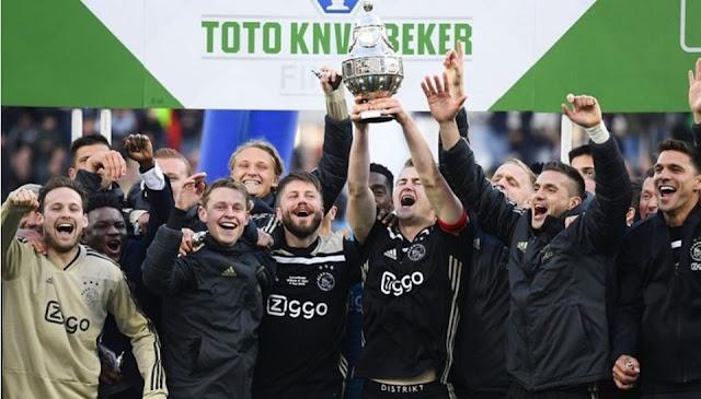 أياكس يحرز كأس هولندا وعينه على درع الدوري