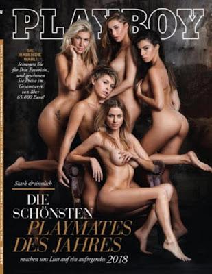 Playboy Germany No 01 Januari 2018 - Model Majalah Pria Dewasa