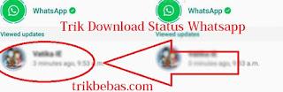 download simpan status story whatsapp dengan mudah