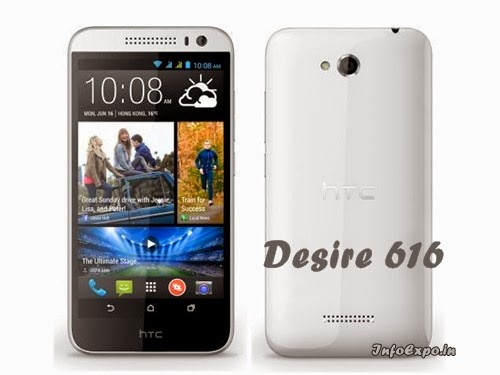 HTC Desire 616: 5-inch Android Smartphone Specs and Price