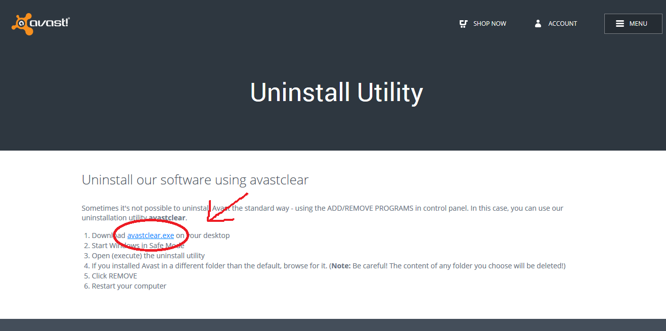 Halaman Download Uninstaller Direct Link Download Uninstaller