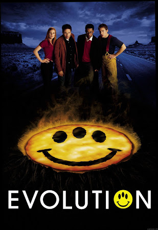 Poster Of Evolution 2001 In Hindi Bluray 720P Free Download