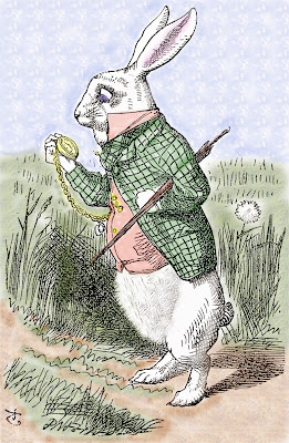 Alice in wonderland White Rabbit Clip Art