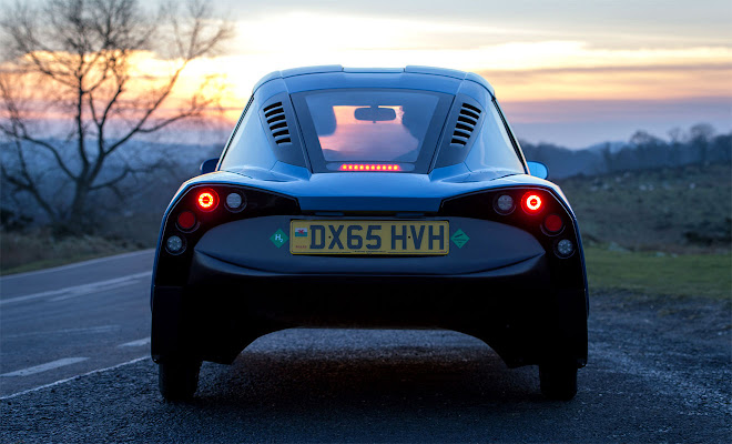 Riversimple Rasa rear view