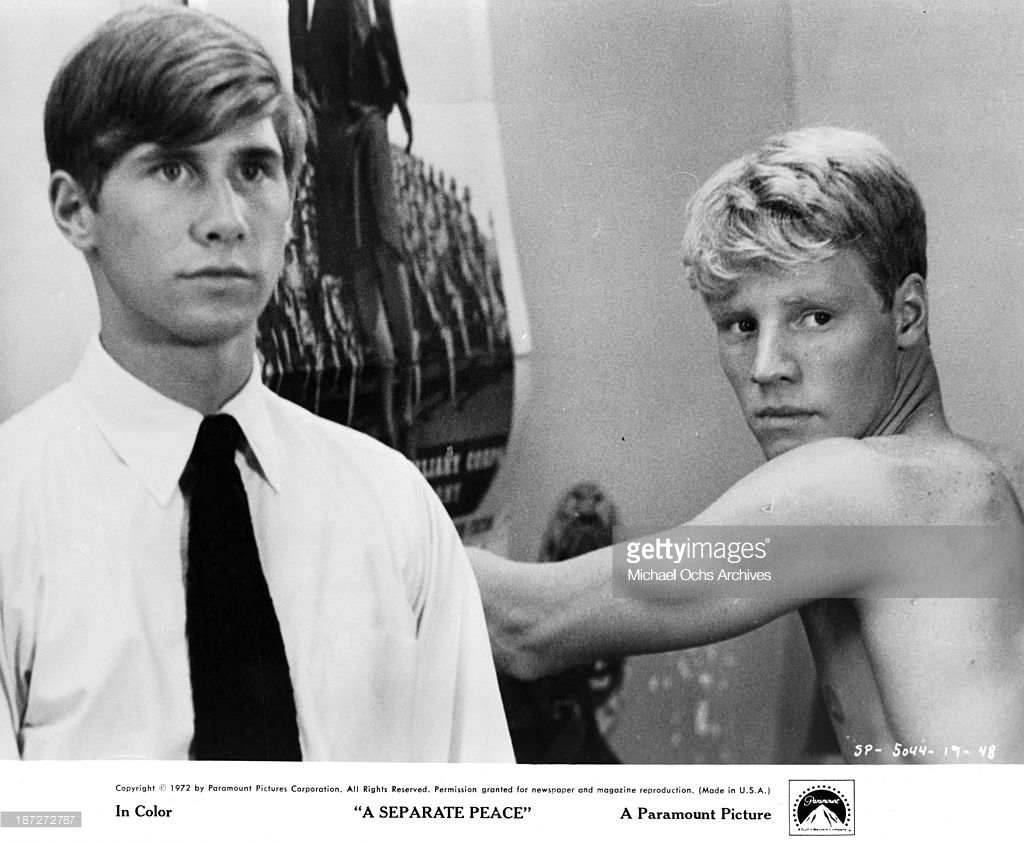 A Separate Peace By John Knowles Isnt The Easiest Oldie To Find For Streaming On Saturday Afternoon Only Place I Can Film Version Is