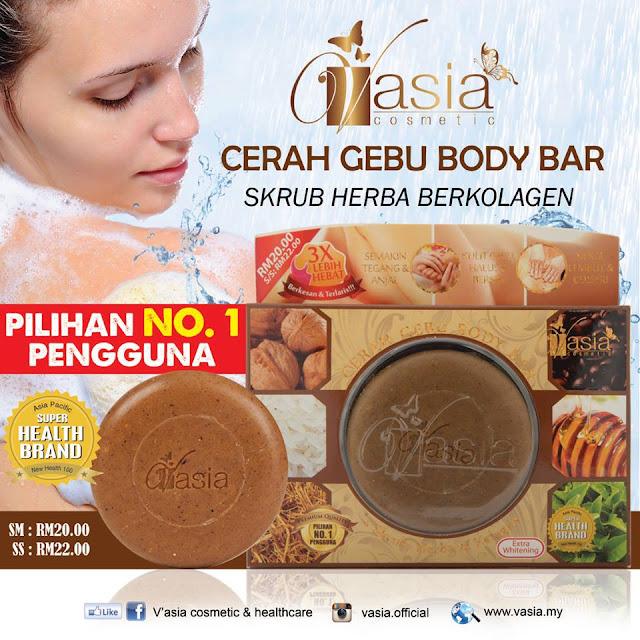 Cerah Gebu Body Bar V'asia