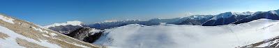 Panorama parco nazionale Abruzzo