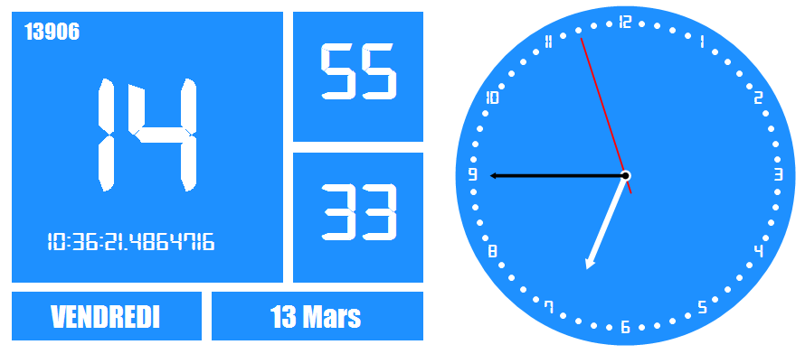 Horloge bureau windows 10 - Horloge bureau windows 8 ...