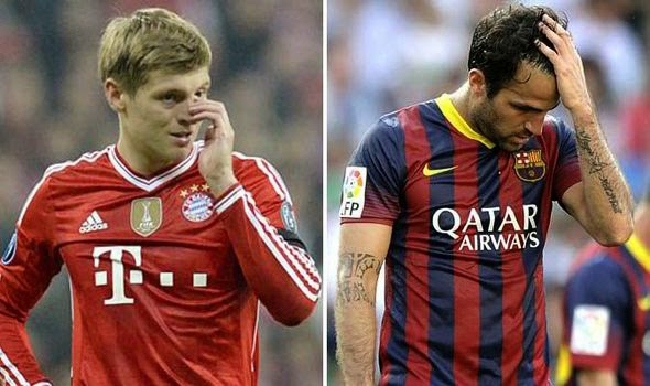 Manchester United had a chance to sign Cesc Fabregas and Toni Kroos