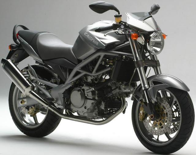 Cagiva V-Raptor Italian modern classic motorbike