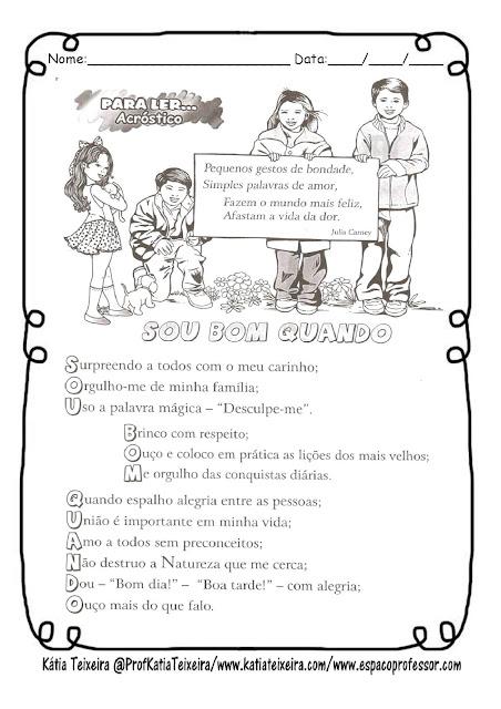 bondade-page-001 Atividade para trabalhar Valores: Bondade