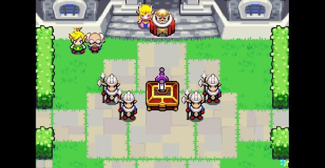 The Legend of Zelda: The Minish Cap - Español - Captura 4