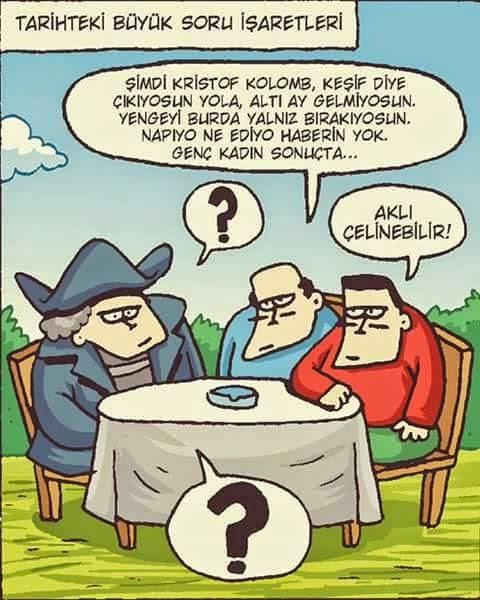 kristof colomb karikatür