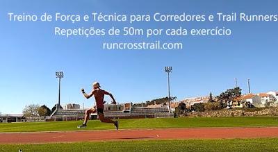Treino de força e técnica de corrida para Corredores e Trail Runners