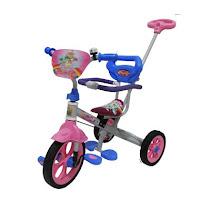 family ban karet tricycle