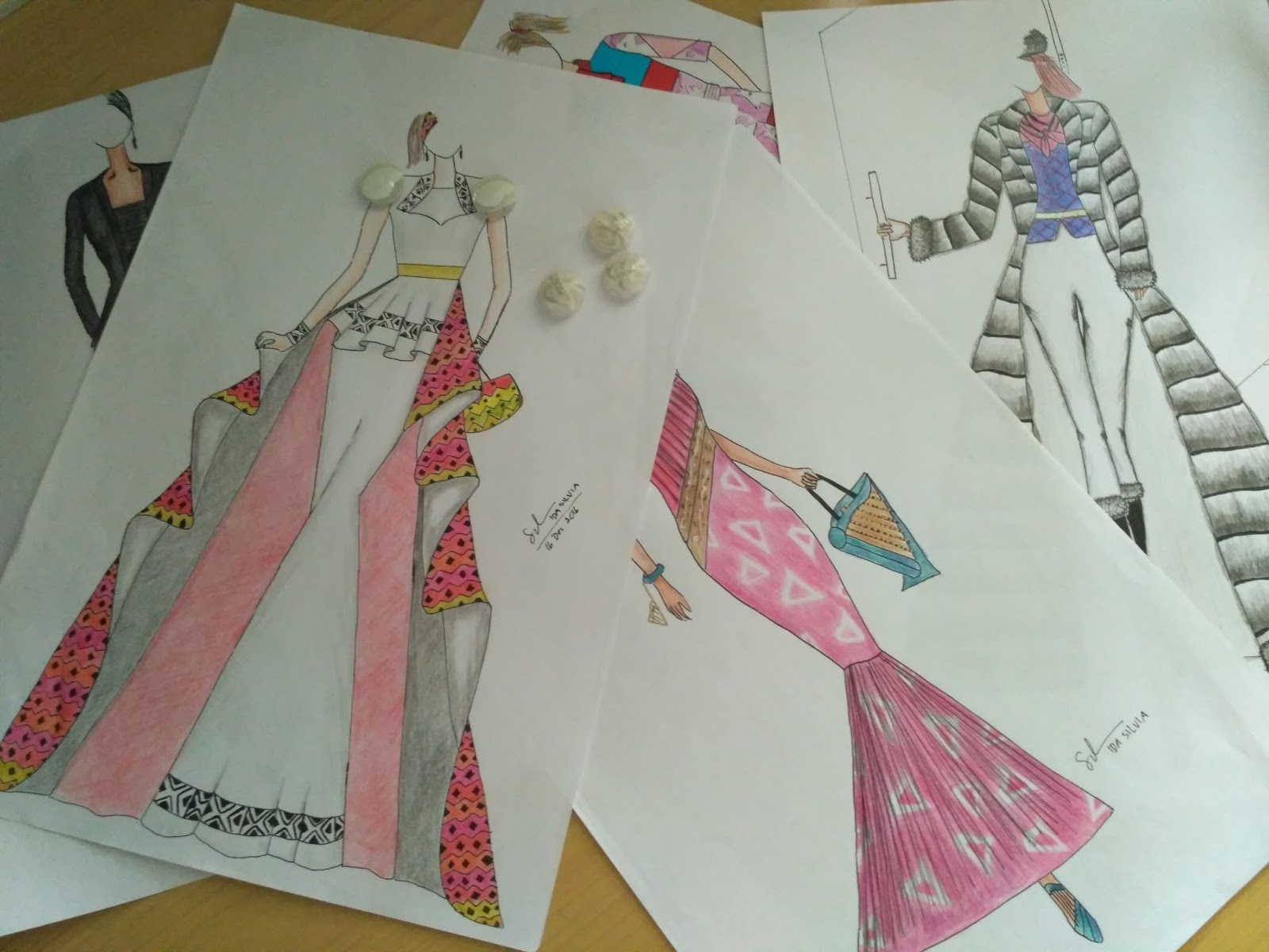Fashion Muslim Designer  Gaun Kebaya Wedding dress  Jasa Design