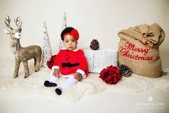 Adorable photos of late Bimbo Odukoya's granddaughter, Ariella Abimbola