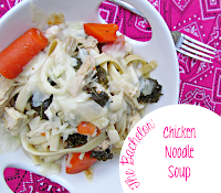 Chicken Noodle Kale Soup Recipe