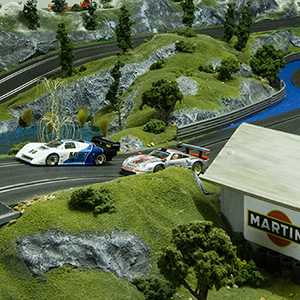 Manicslots Slot Cars And Scenery Gallery Fryar Mountain