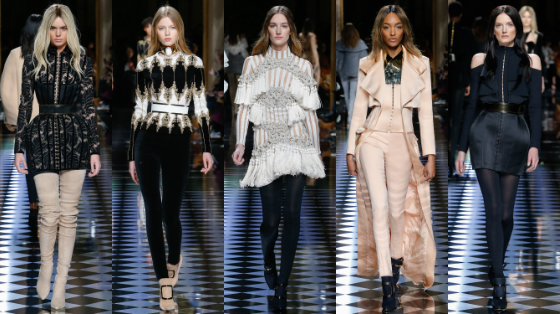 paris fashion week 2016 balmain