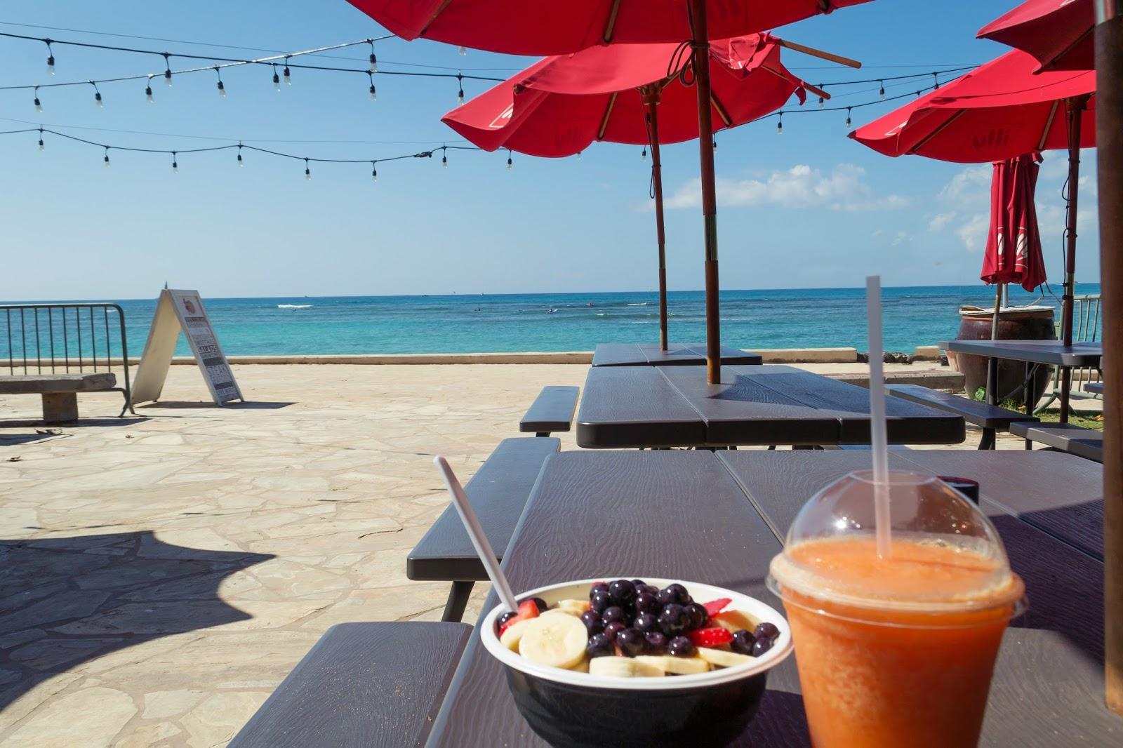 Acai Bowls by Waikiki Beach