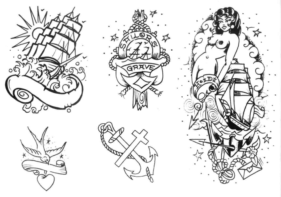 la farandula old school and vintage tattos that i love. Black Bedroom Furniture Sets. Home Design Ideas