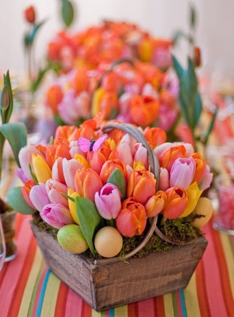 Floral Arrangements With Tulips 3