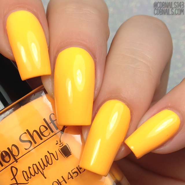Top Shelf Lacquer-Mango Acai Smoothie