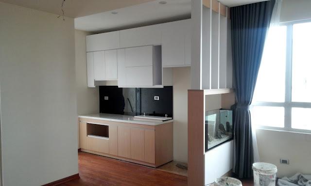 Nội thất căn hộ mẫu tháp doanh nhân