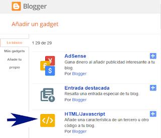 ¿Cómo crear un Menú desplegable Responsive en mi blog de Blogger?