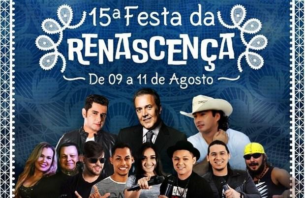Confira a programação da 15ª Festa da Renascença em Pesqueira