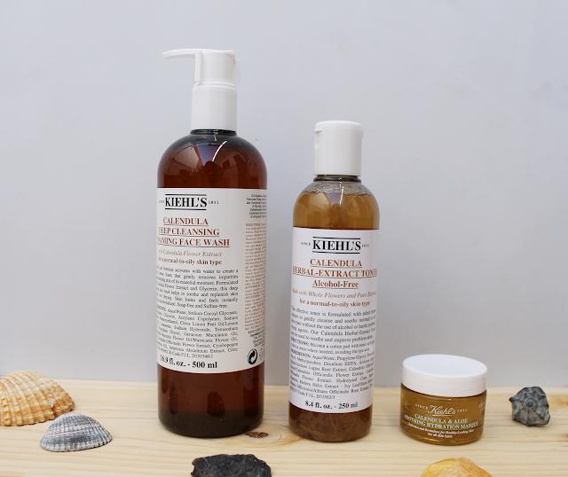 productos de cosmética para el rostro de Kiehl's