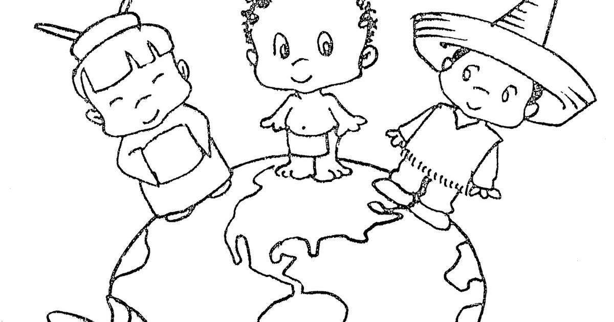 Pinto Dibujos: Día De Las Naciones Unidas