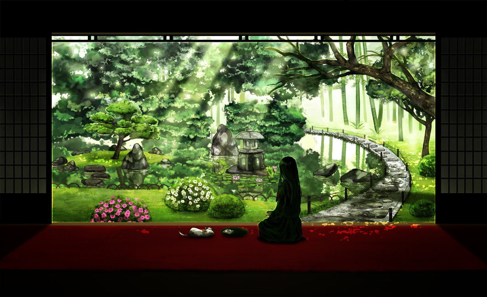 Anime Scenery Backgrounds