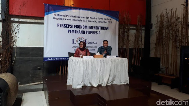 Survei LSI Denny JA: Jokowi Ungguli Prabowo di Pemilih Non Muslim