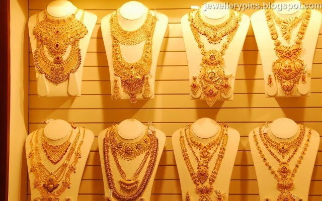 These Are The Latest Collection Of Bridal Necklace Sets Launched By Kalyan Jewellers Recently Thre Gold Jewellery Stunning