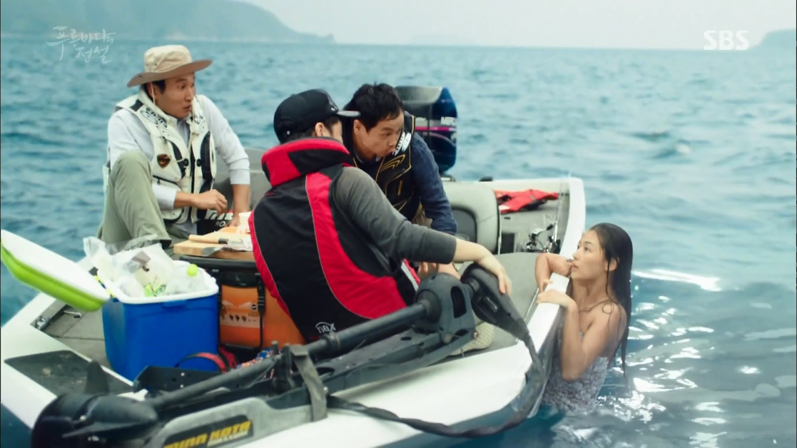 Screenshot Cheong Yi Go to Seoul Scene The Legend Of The Blu Sea (2016)  1080p Episode 03 - www.uchiha-uzuma.com