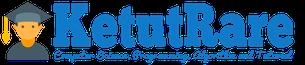 logo ketutrare.com dengan logaster