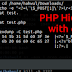 PHP Hidden webshell with carriage return(\r, hack trick)