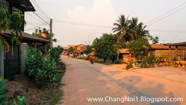 Kenthao village in Laos