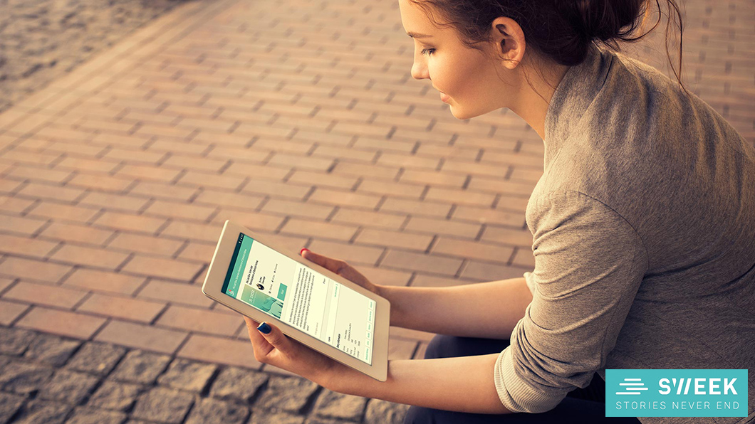 Sweek, a nova plataforma móvel de leitura