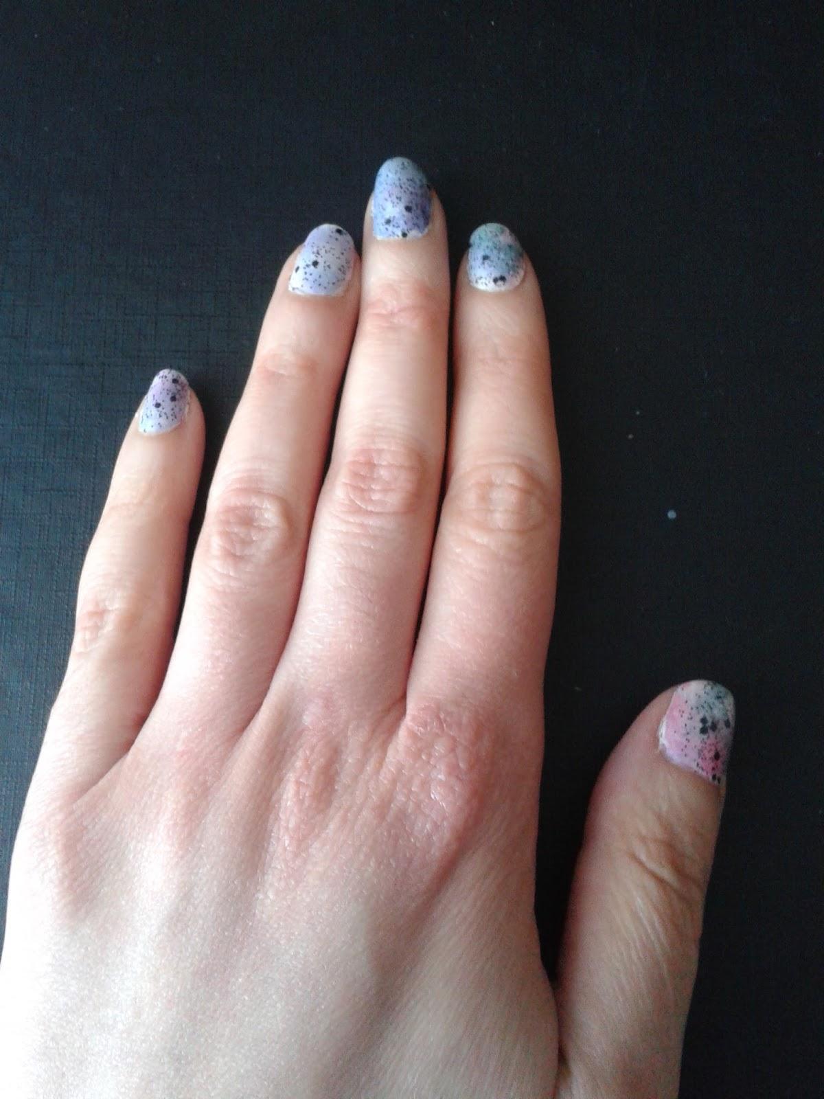 El libro de conjuros de Tita Hellen: Look de uñas: Galaxies y ...