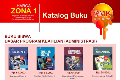 Katalog Buku dan Harga Buku Untuk Siswa SMK Lengkap