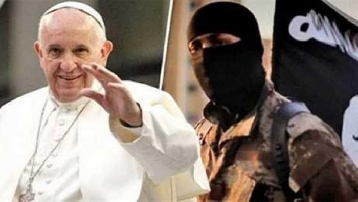 تزامنًا مع عيد الميـلاد.. داعش تعاود التهديد بمهاجمة بابا الفاتيكان